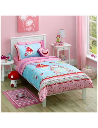 Secret Garden Double Bed Quilt Cover Set