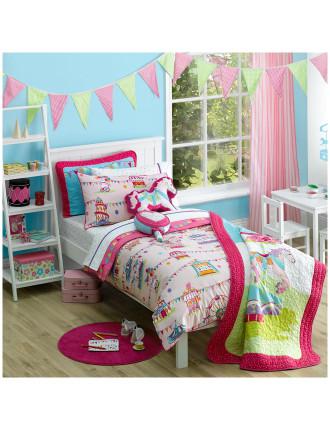 Fairground Single Bed Quilt Cover Set