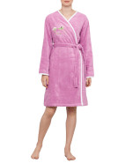 Lola Rose Embroidered Robe (Small) $199.00