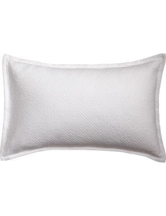 Chinese Key Matelasse Standard Pillowcase