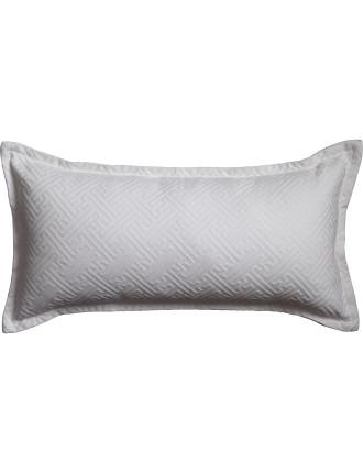 Chinese Key Matelasse Long Cushion