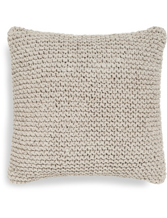 Cove Natural Square Cushion