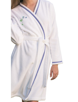 Beaucoup Embroidered Robe Small