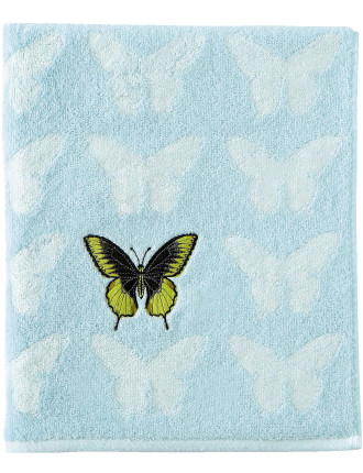 Envol Embroidered Bath Sheet
