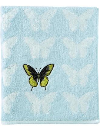 Envol Embroidered Guest Towel