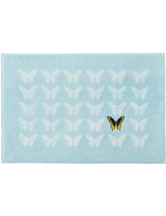 Envol Embroidered Bath Mat