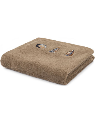 Lavezzi Embroidered Bath Towel