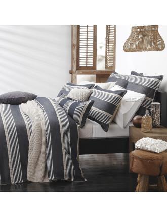 Bennett Queen Bed Quilt Cover Set