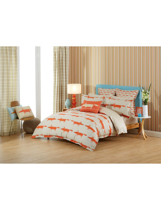 Mr Fox Single Bed Quilt Cover