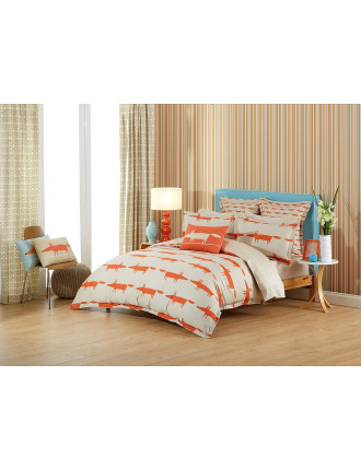 Mr Fox King Bed Quilt Cover