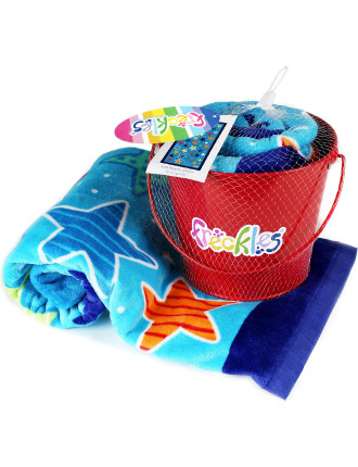 Galaxy Beach Towel And Bucket