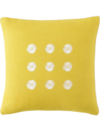 A La Folie Embroidered Cushion