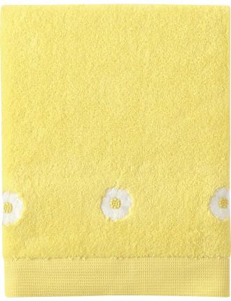 A La Folie Embroidered Bath Towel
