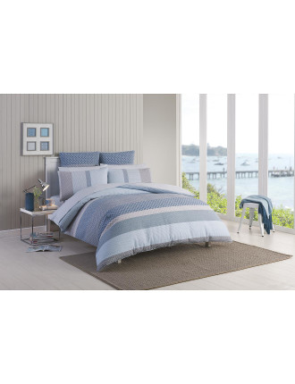 Callum Quilted Quilt Cover King