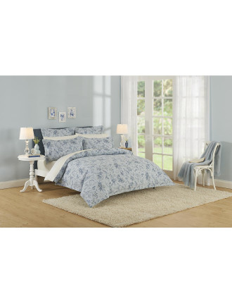 Pillemont Toile Que Quilted Cover King