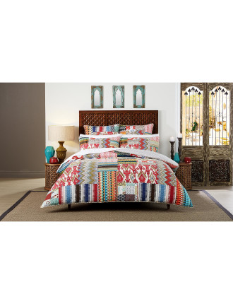 ALETTA SINGLE BED QUILT COVER