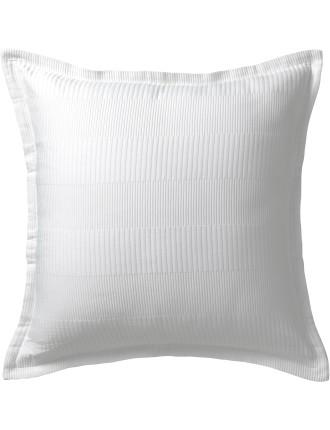 Manhatten White European Pillowcase
