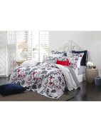 Egrets King Quilt Cover (Set) $167.97