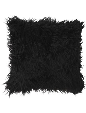 Faux Fur Square Cushion