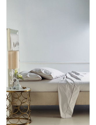 300tc Egyptian Cotton Fitted Sheet - Double