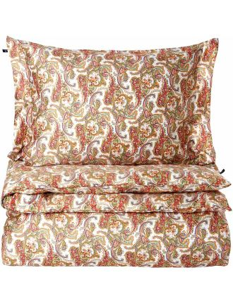 Summer Paisley Quilt Cover King