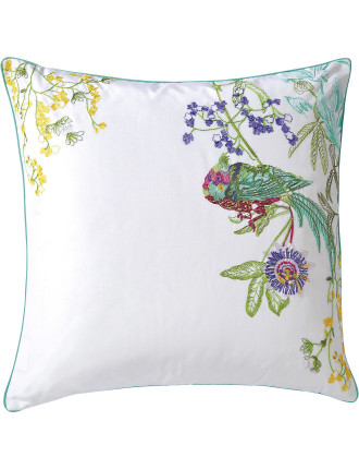 Ailleurs Embroidered Cushion