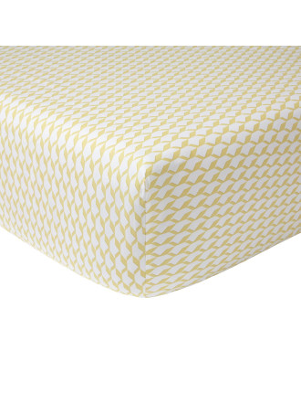 Voguer Menthe Fitted Sheet Double