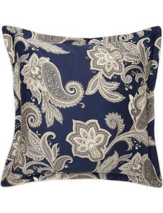 Alexandra Navy European Pillowcase Each