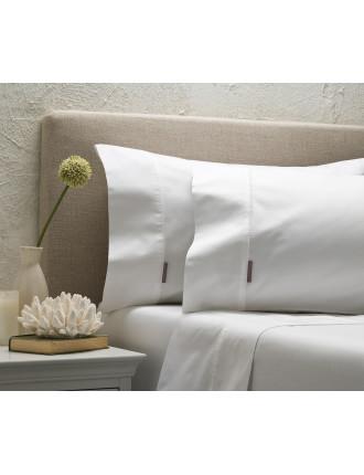 Mosawan White Sheet Set Queen