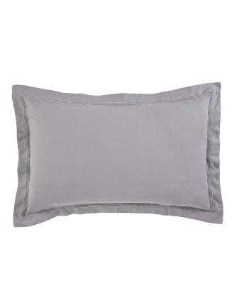Heston Silver Standard Pillowcases (Pair)
