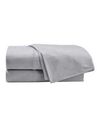 Heston Silver Sheet Set King