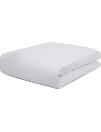 Essentials White Extra Deep King Fitted Sheet