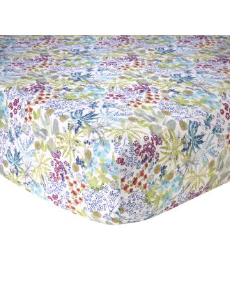 ENFLEUR DOUBLE BED FITTED SHEET 137 X 193 CM