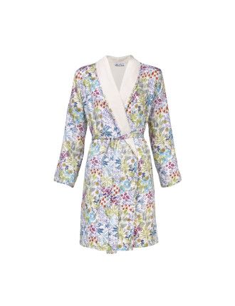 ENFLEUR SHAWL COLLAR ROBE SMALL