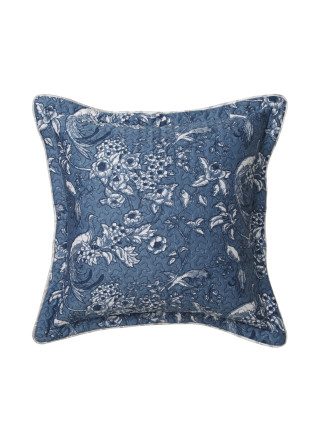 BIRDS OF PARADISE SQUARE CUSHION 41X41 CM