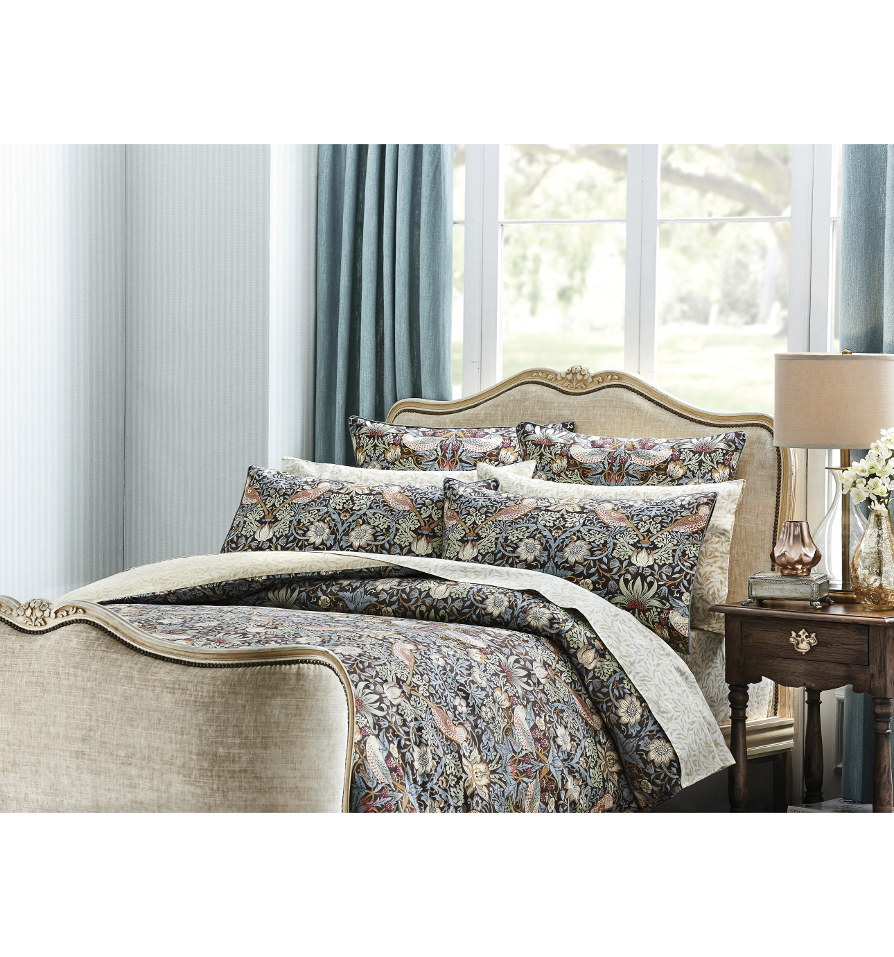 ANTHEA SINGLE BED QUILT COVER | David Jones : quilt cover sets david jones - Adamdwight.com