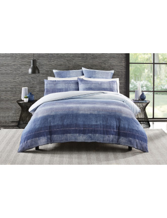 Turlington Indigo  King Bed Quilt Cover