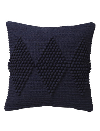 QUAY NAVY SQUARE CUSHION