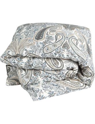 Key West Paisley Queen Bed Duvet Cover