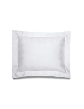 Glen Plaid Cushion 31x42 White