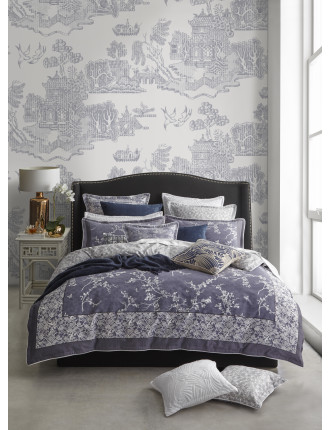 ORIENTAL QUEEN QUILT COVER SET