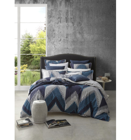 FLAMESTITCH SUPER KING QUILT COVER SET | David Jones : quilt cover sets david jones - Adamdwight.com