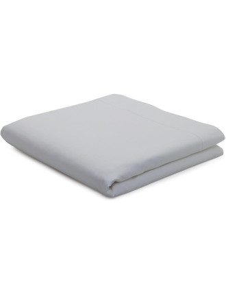 1200 Percale Flat Sheet King Bed