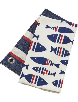 Atlantic Tea Towel Set of 2