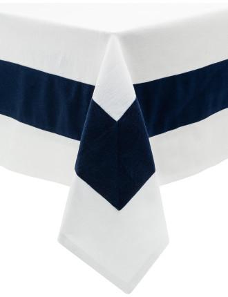 Linen Union Stripe Tablecloth