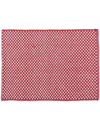 Basketweave Ribbed Placemat
