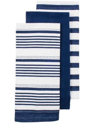 Bennett Butcher Stripe Tea Towel