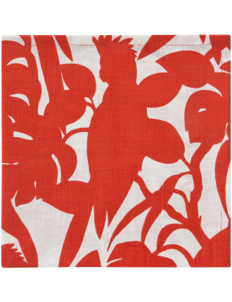 Cockatoo Napkin Set of 4