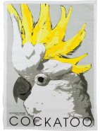 Linen Tea Towel - Cockatoo $16.95