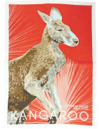 Linen Tea Towel - Kangaroo $16.95